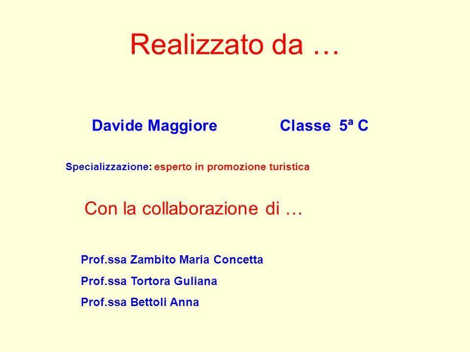 Realizzato da … Con la collaborazione di … Davide Maggiore Classe 5ª C