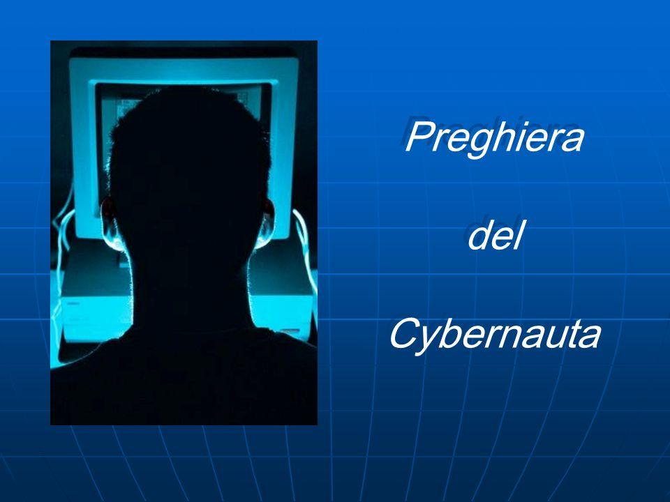 Preghiera del Cybernauta