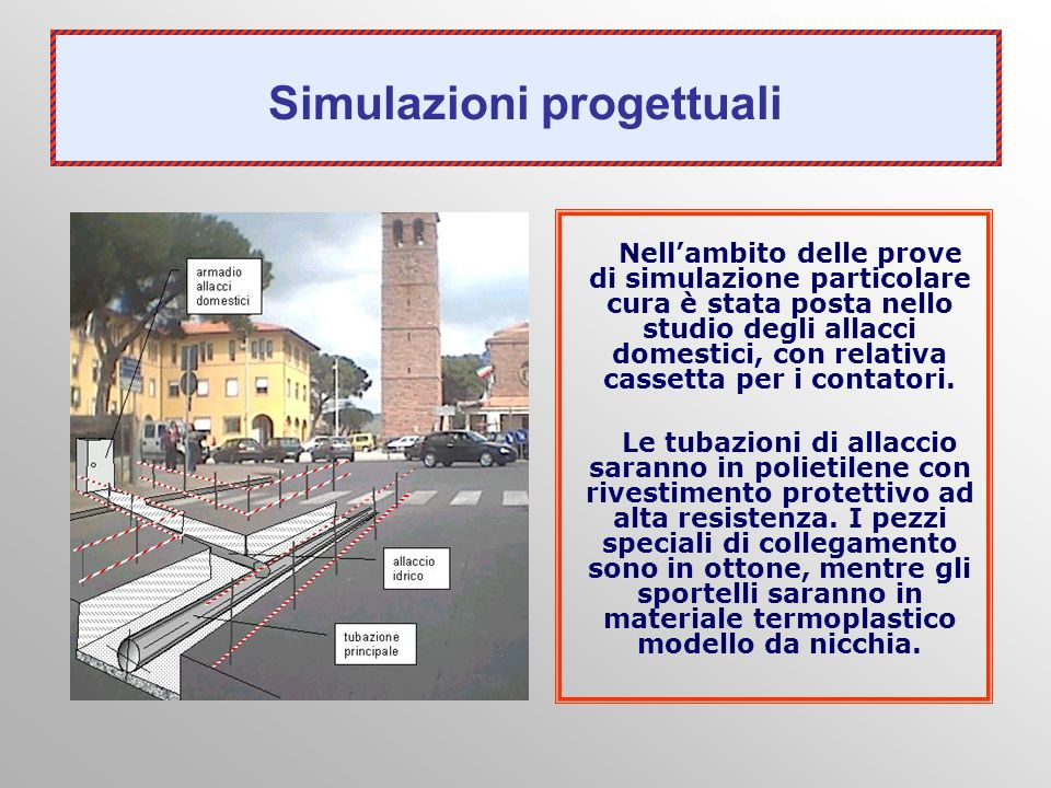 Simulazioni progettuali