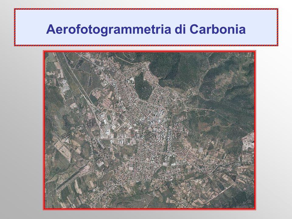 Aerofotogrammetria di Carbonia