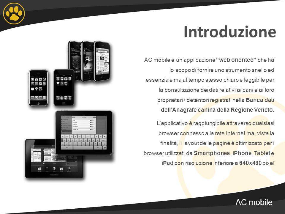 Introduzione AC mobile