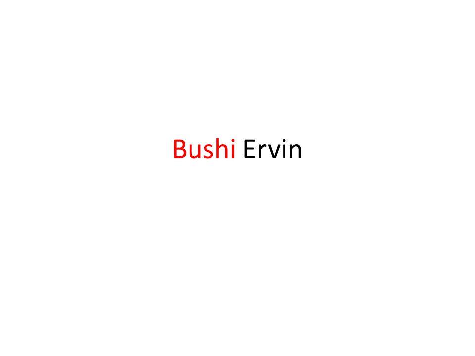Bushi Ervin