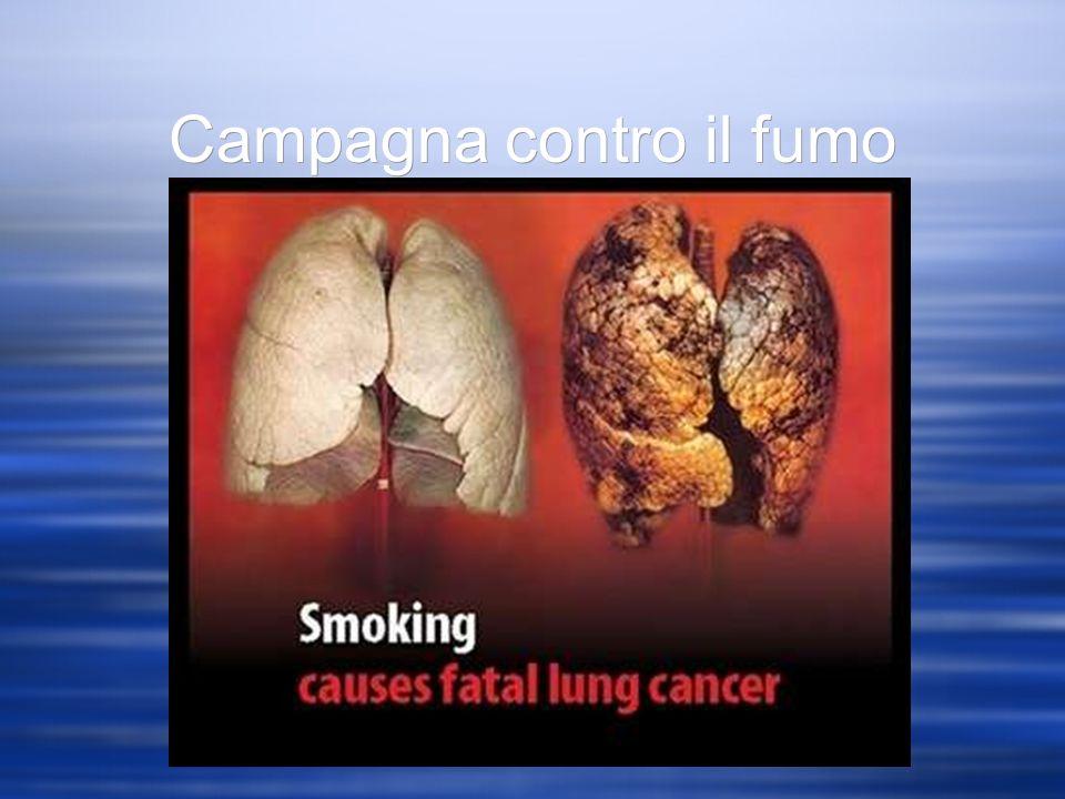 Campagna contro il fumo