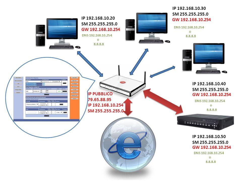 IP 192.168.10.30 SM 255.255.255.0. IP 192.168.10.20. SM 255.255.255.0. GW 192.168.10.254. DNS 192.168.10.254.