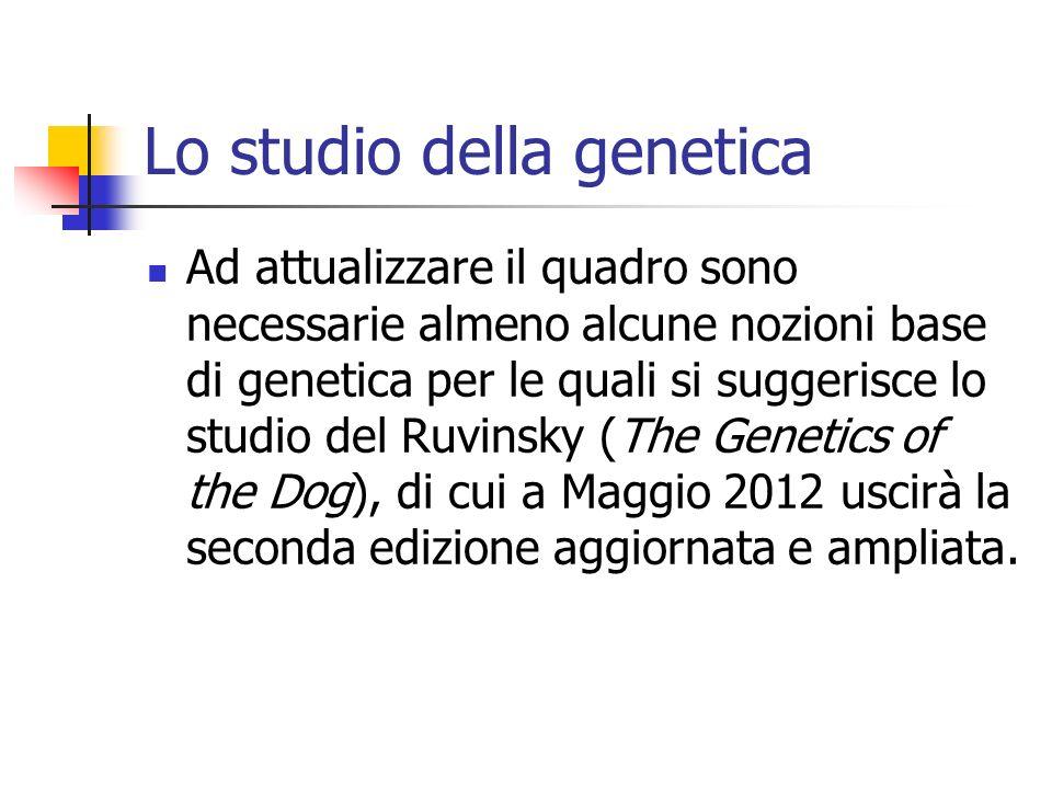 Lo studio della genetica