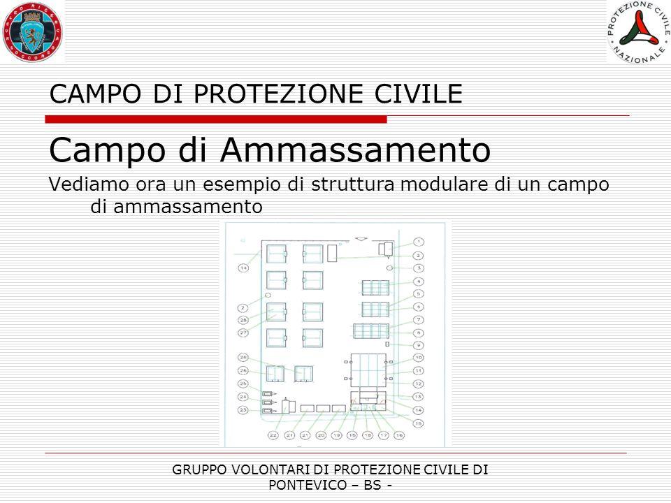 CAMPO DI PROTEZIONE CIVILE