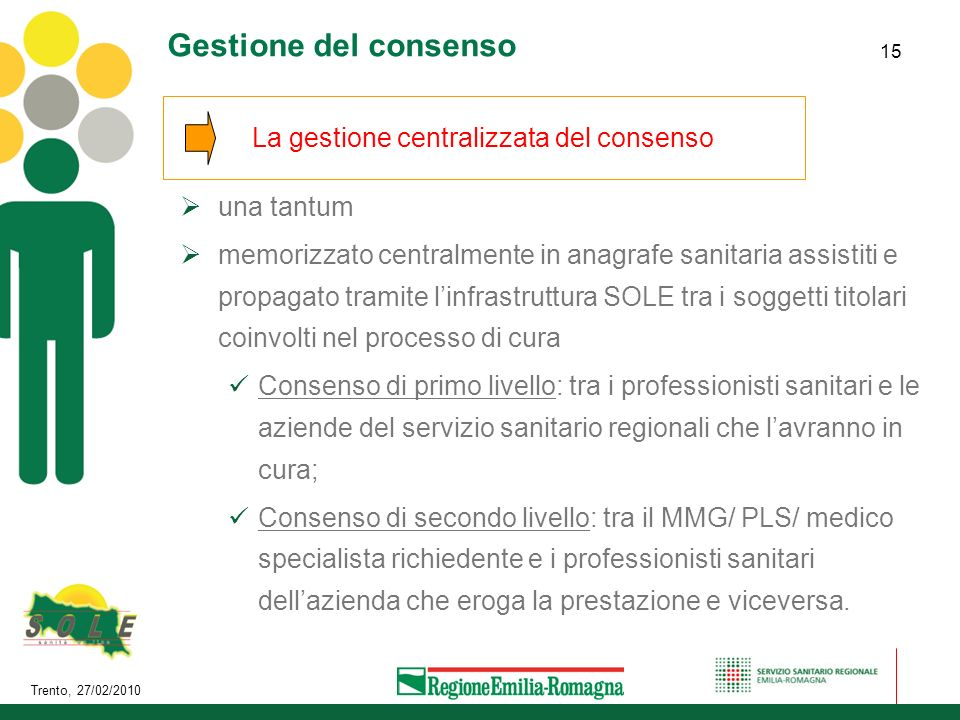 La gestione centralizzata del consenso