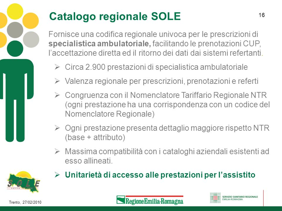 Catalogo regionale SOLE