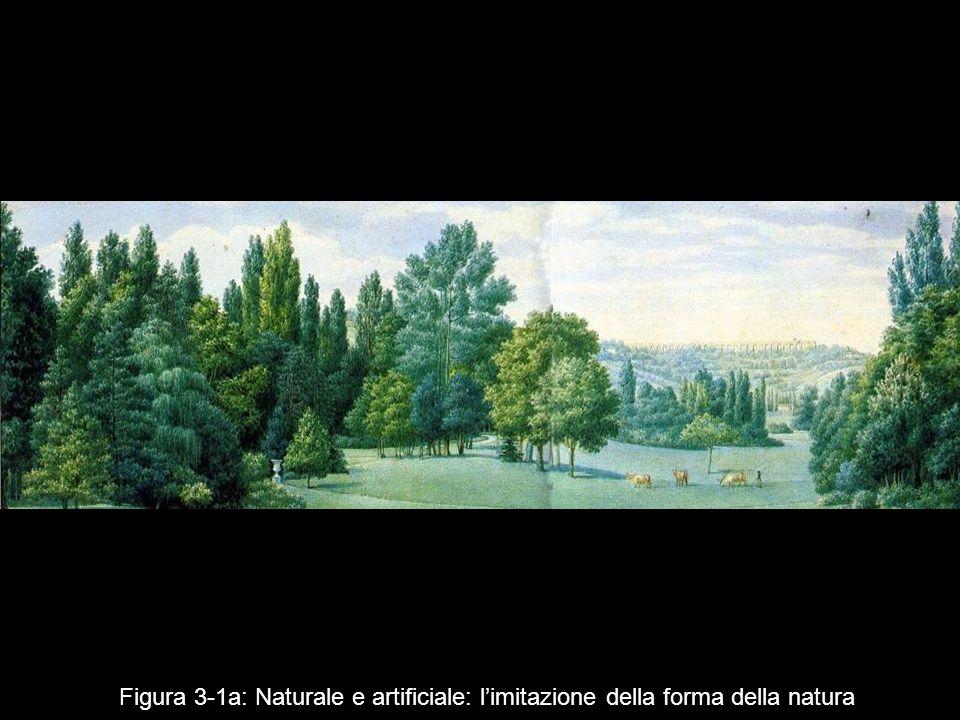 Figura 3‑1a: Naturale e artificiale: l'imitazione della forma della natura