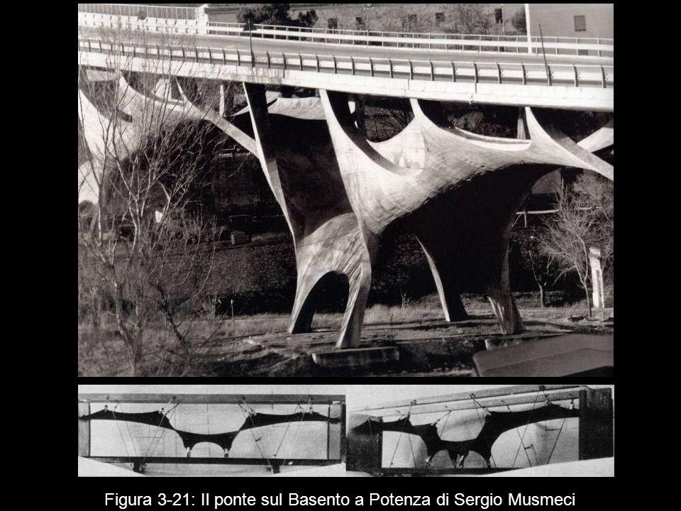 Figura 3‑21: Il ponte sul Basento a Potenza di Sergio Musmeci