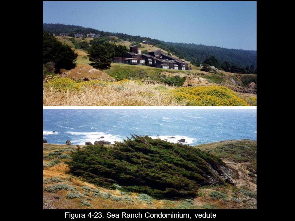 Figura 4‑23: Sea Ranch Condominium, vedute