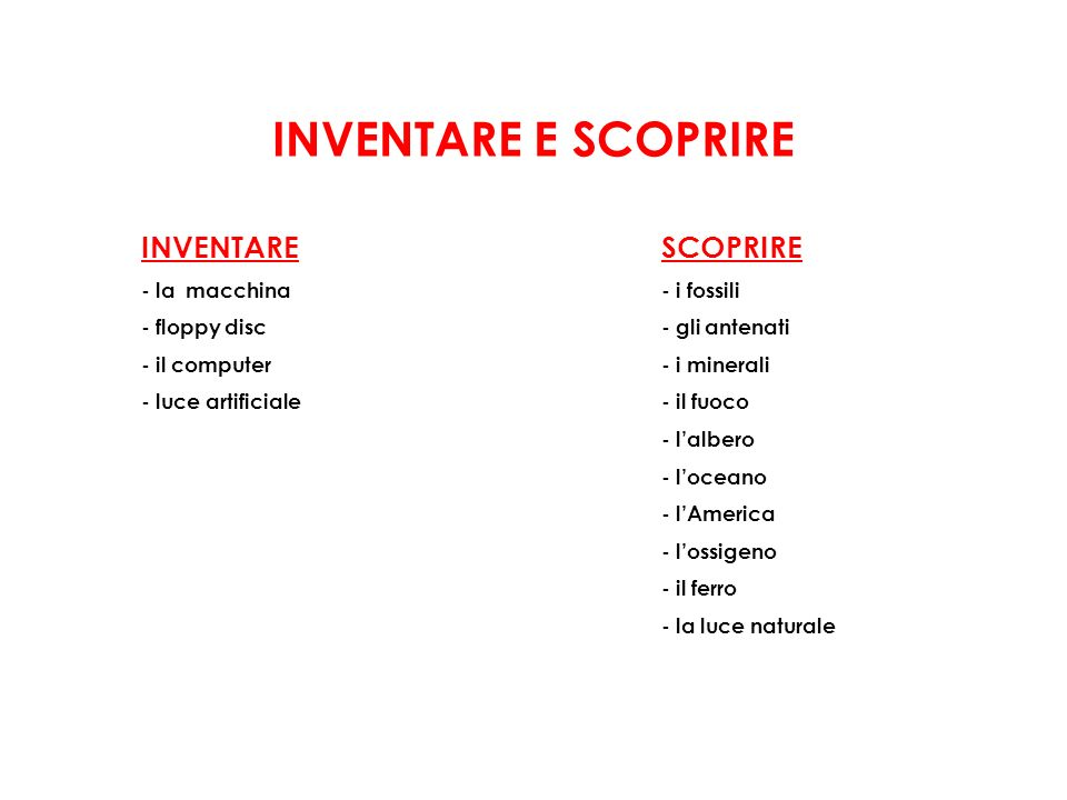 INVENTARE E SCOPRIRE INVENTARE SCOPRIRE - la macchina - floppy disc