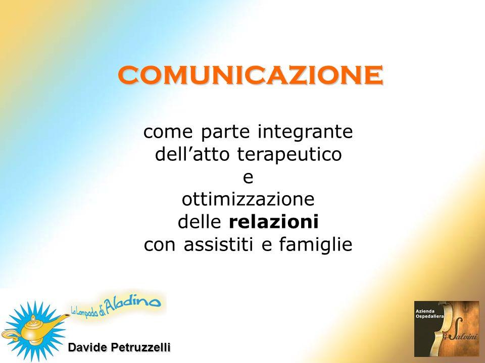 COMUNICAZIONE come parte integrante dell'atto terapeutico e