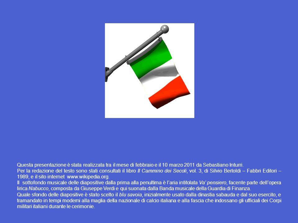 Questa presentazione è stata realizzata tra il mese di febbraio e il 10 marzo 2011 da Sebastiano Inturri.