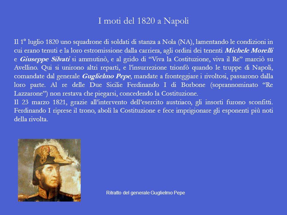I moti del 1820 a Napoli