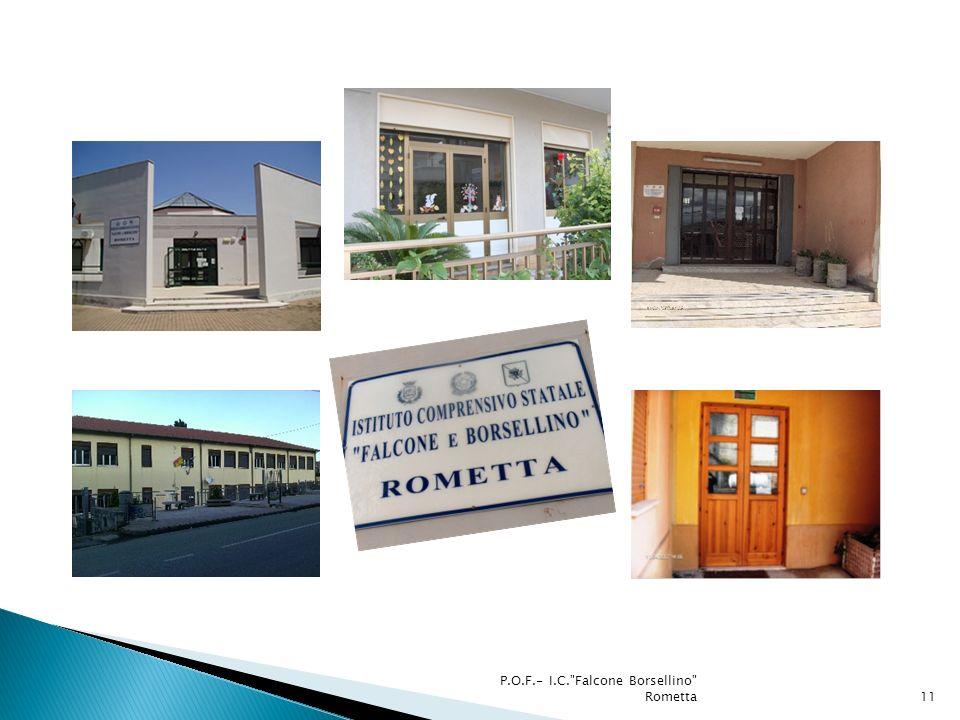 P.O.F.- I.C. Falcone Borsellino Rometta