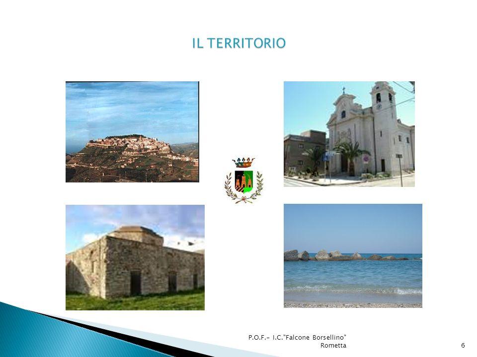 IL TERRITORIO P.O.F.- I.C. Falcone Borsellino Rometta