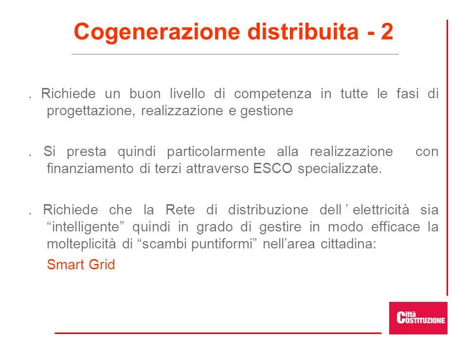 Cogenerazione distribuita - 2