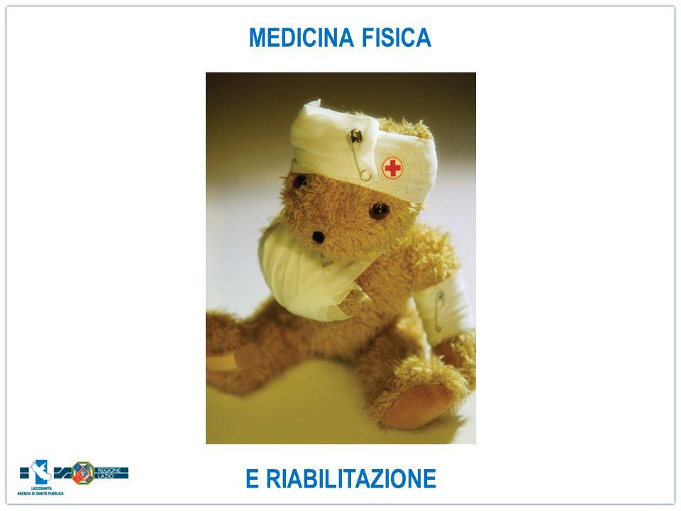MEDICINA FISICA E RIABILITAZIONE