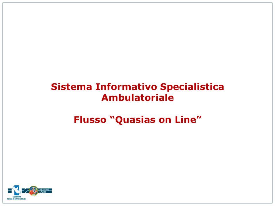 Sistema Informativo Specialistica Ambulatoriale