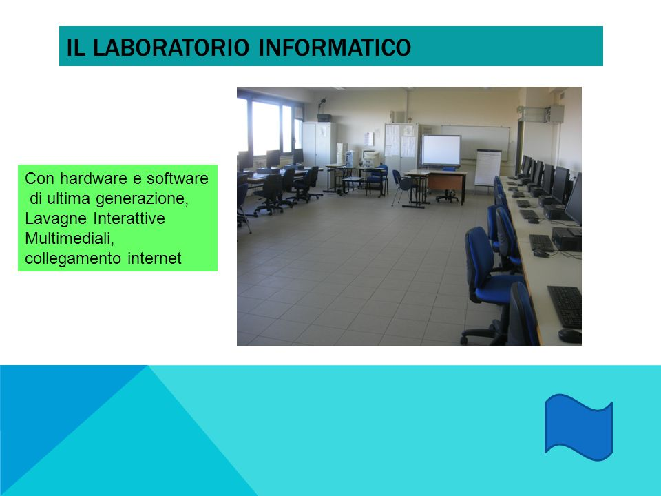 Il laboratorio informatico
