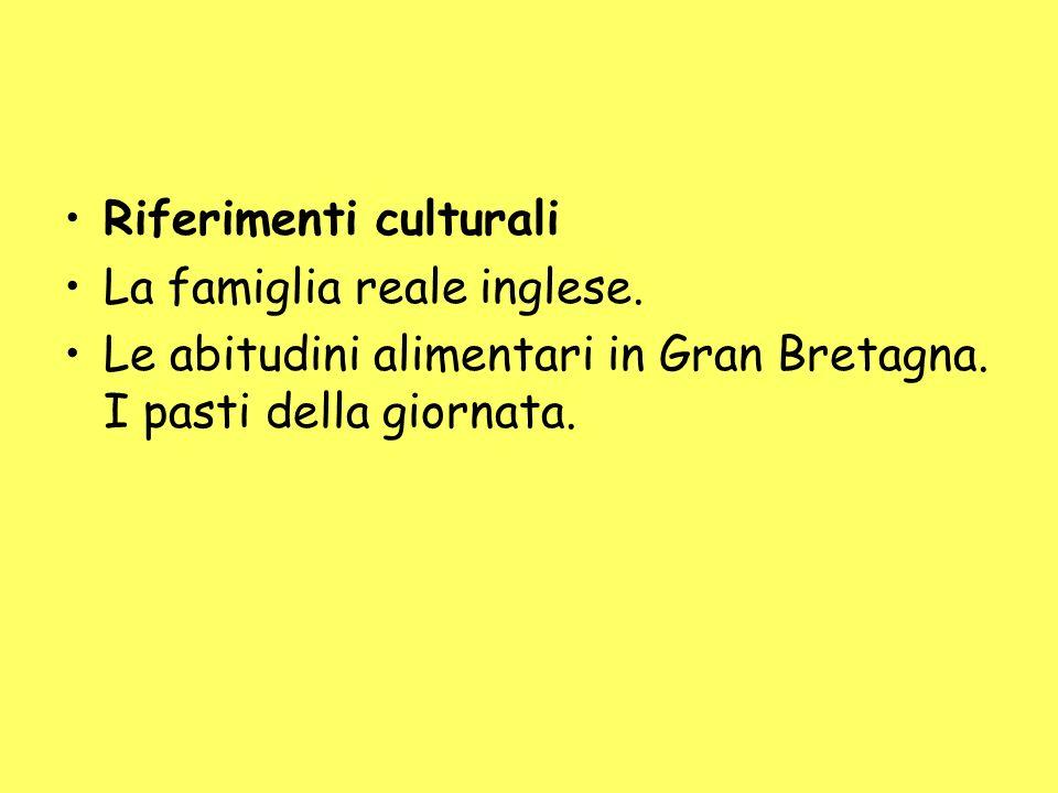 Riferimenti culturali