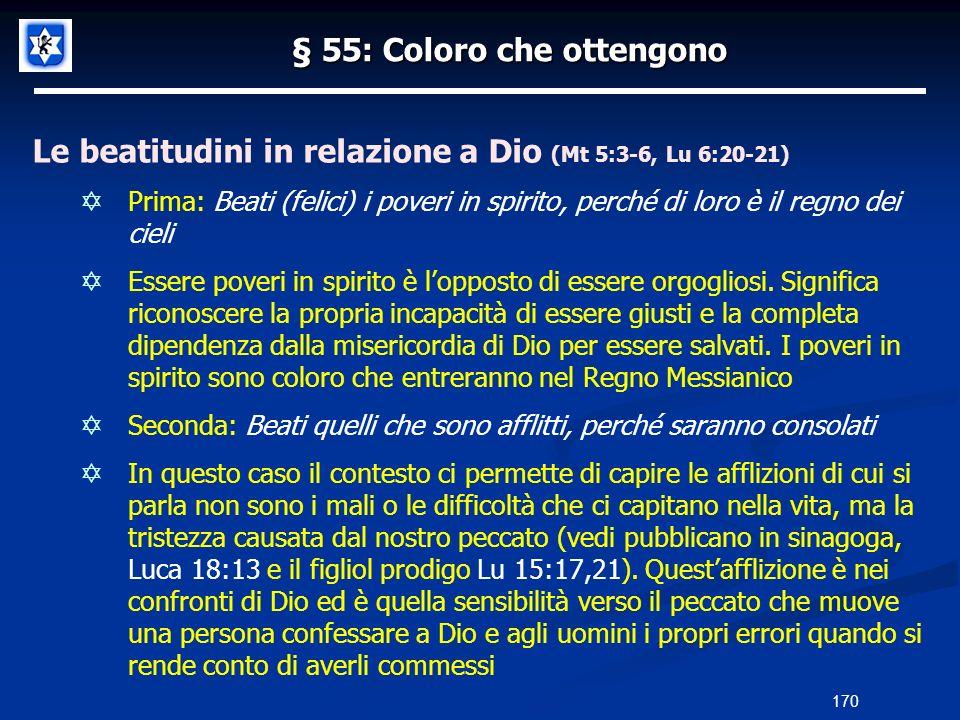 § 55: Coloro che ottengono