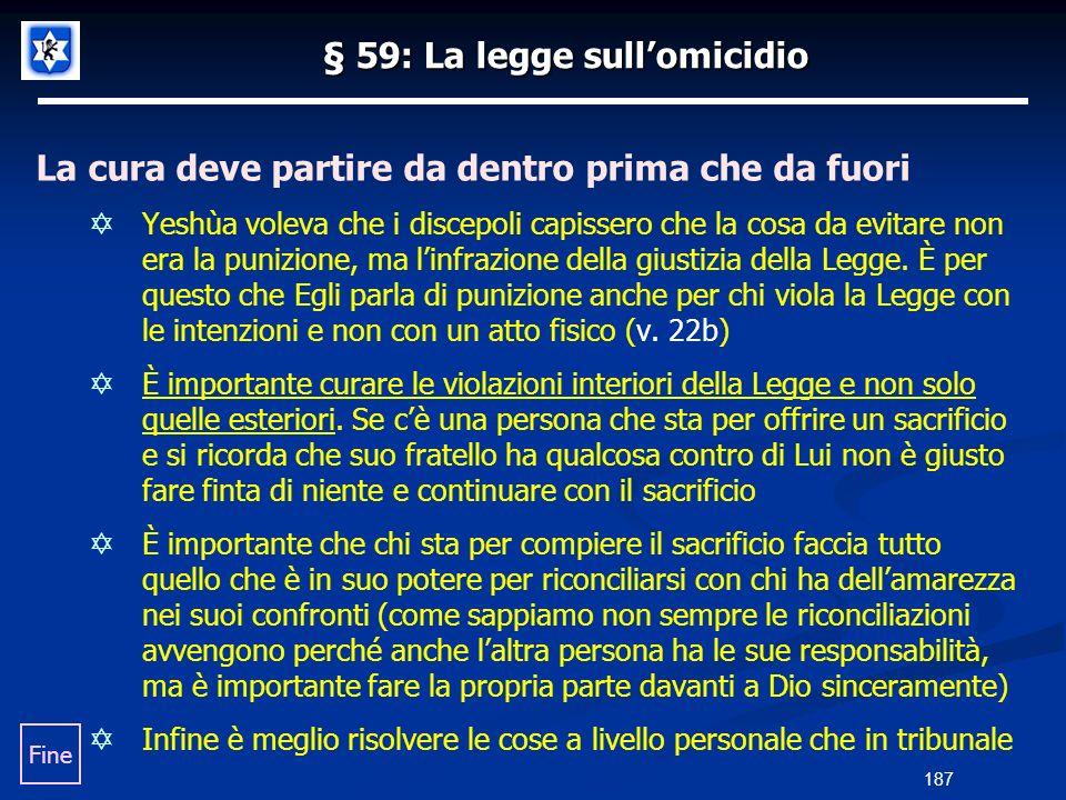 § 59: La legge sull'omicidio