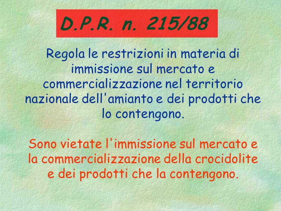 D.P.R. n. 215/88
