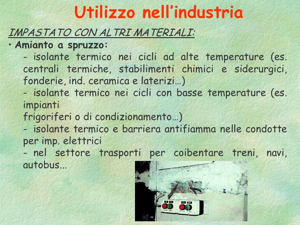 Utilizzo nell'industria