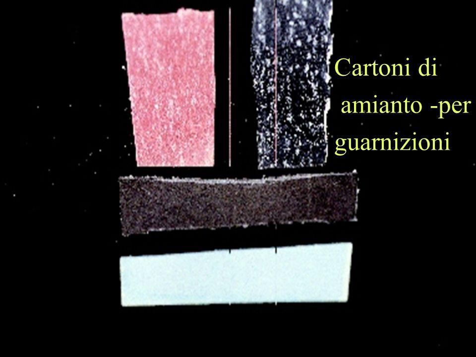 Cartoni di amianto -per guarnizioni