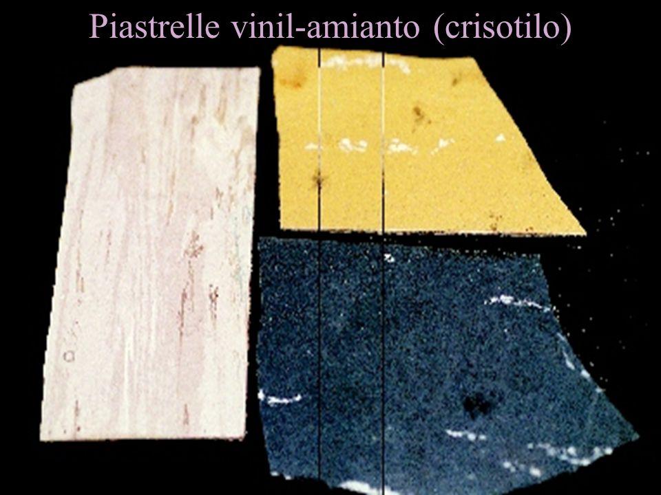 Piastrelle vinil-amianto (crisotilo)