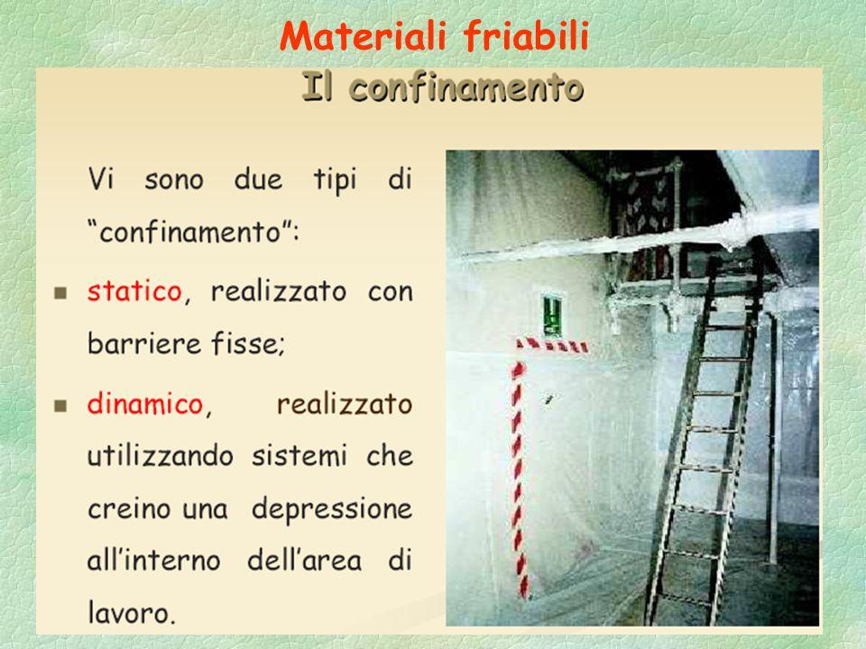 Materiali friabili