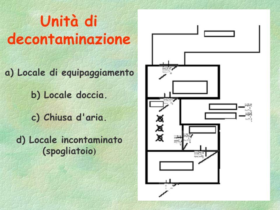Unità di decontaminazione