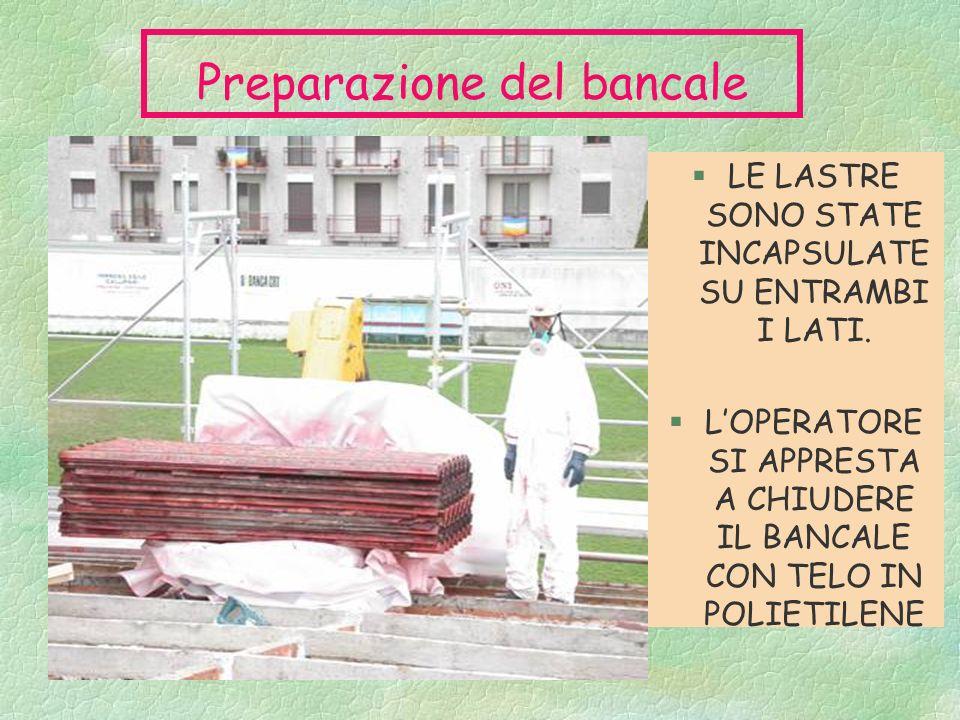 Preparazione del bancale