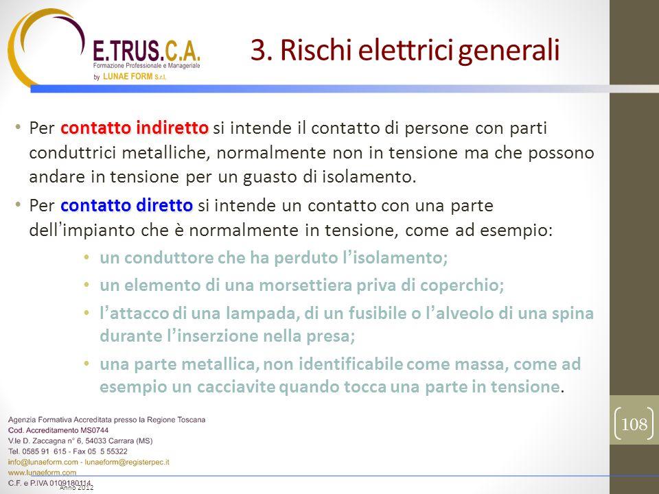 3. Rischi elettrici generali