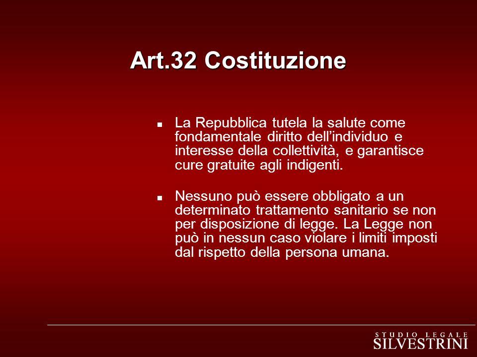 Art.32 Costituzione