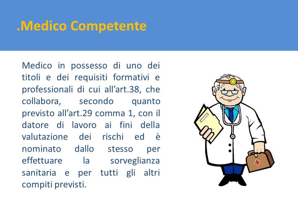 .Medico Competente