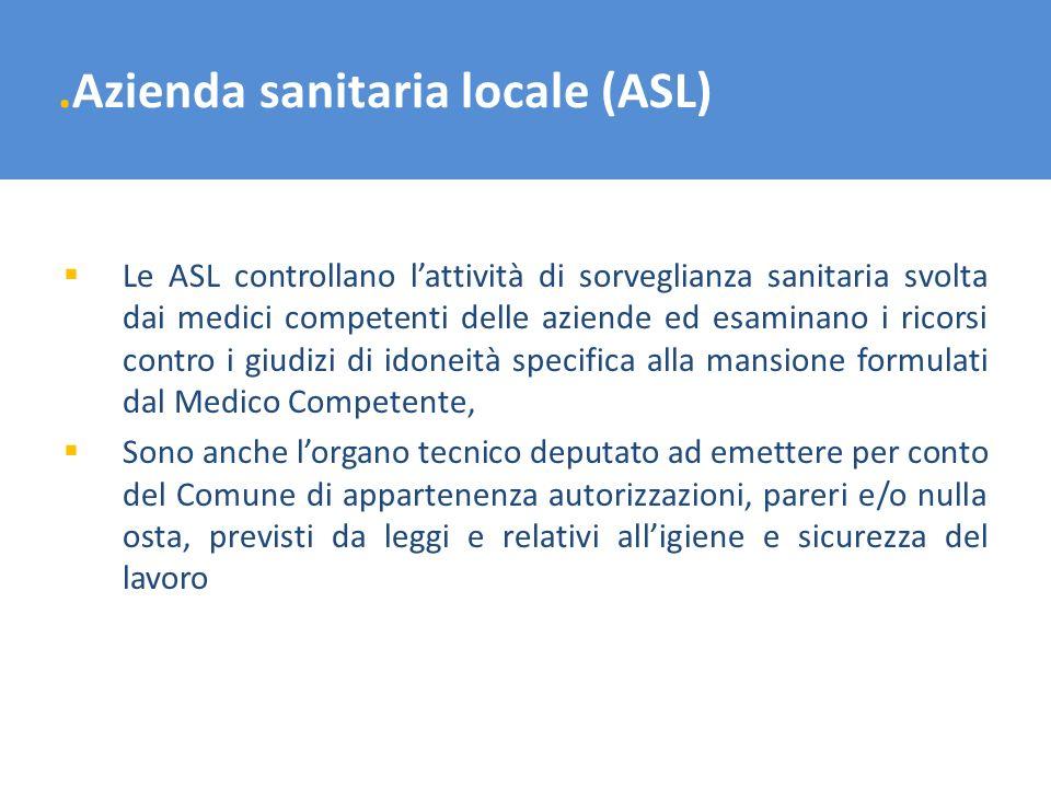 .Azienda sanitaria locale (ASL)