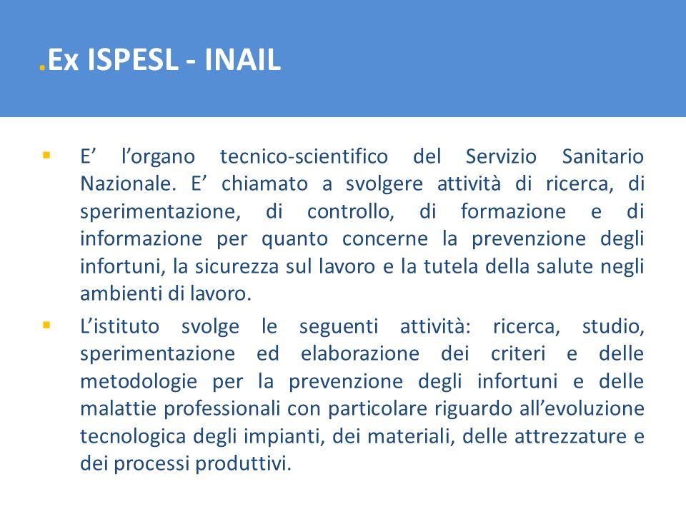 .Ex ISPESL - INAIL