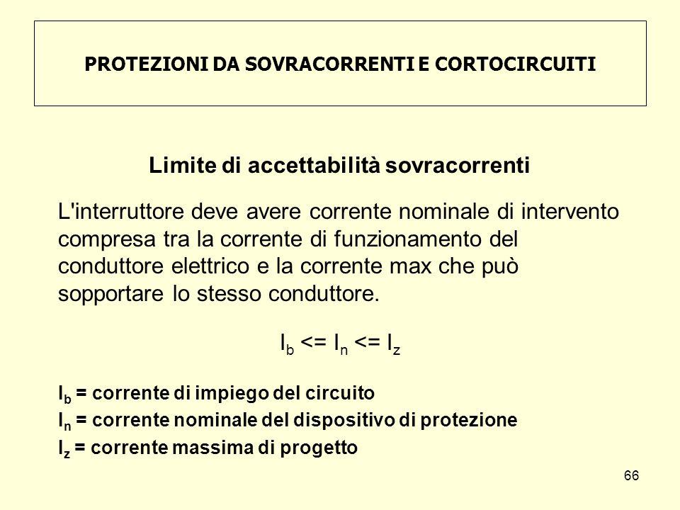 PROTEZIONI DA SOVRACORRENTI E CORTOCIRCUITI