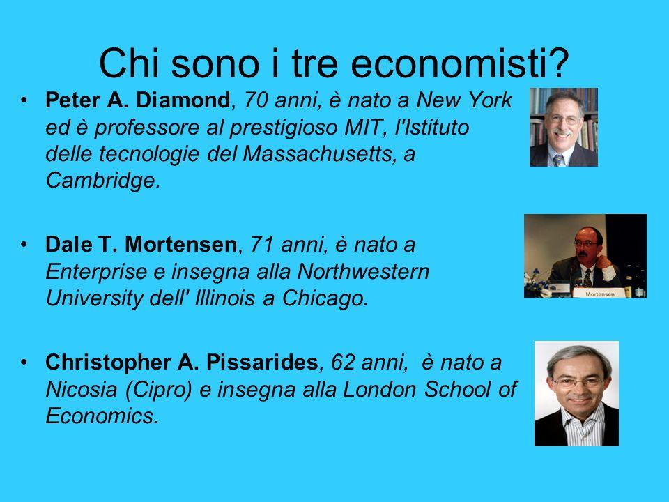Chi sono i tre economisti