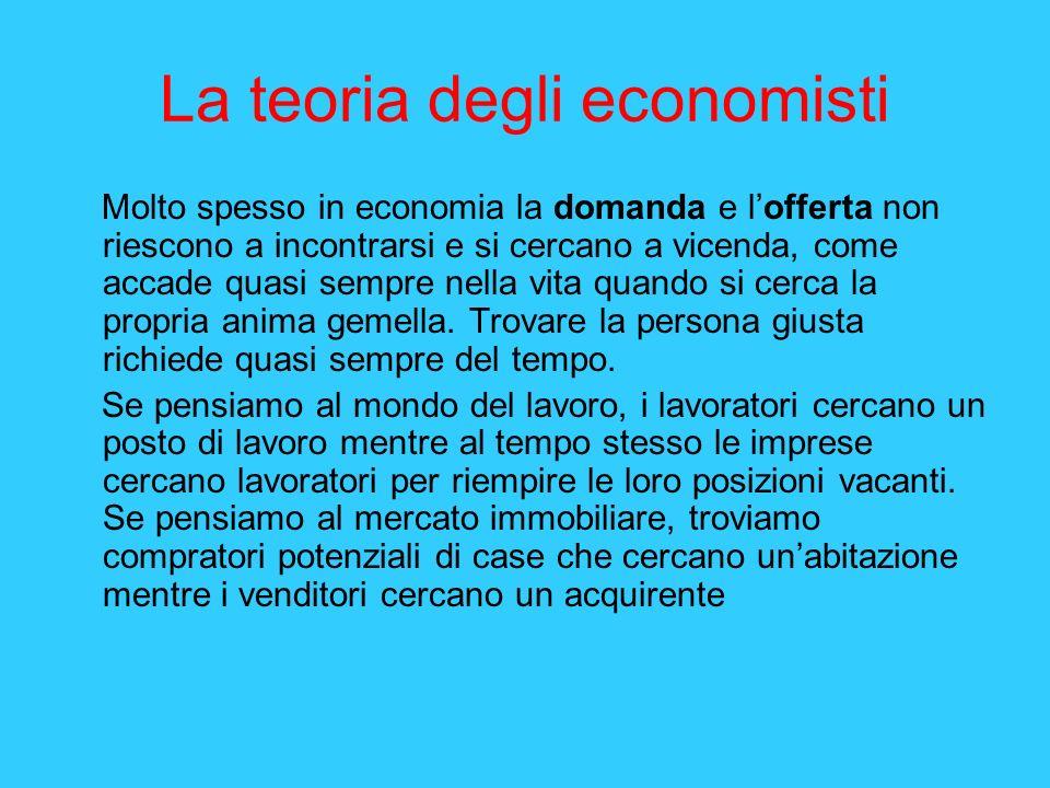 La teoria degli economisti