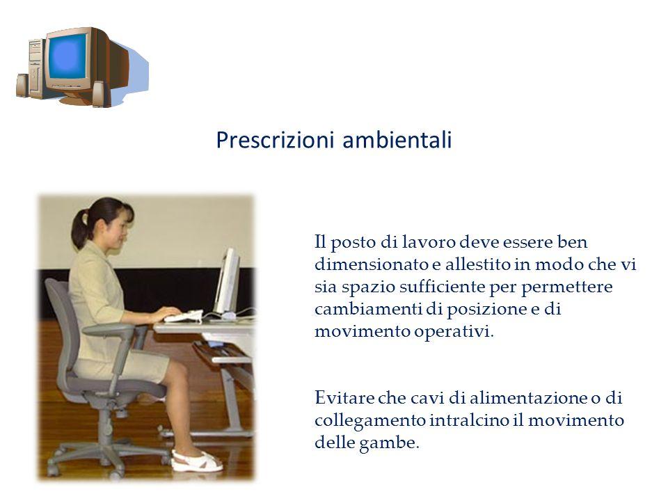 Prescrizioni ambientali