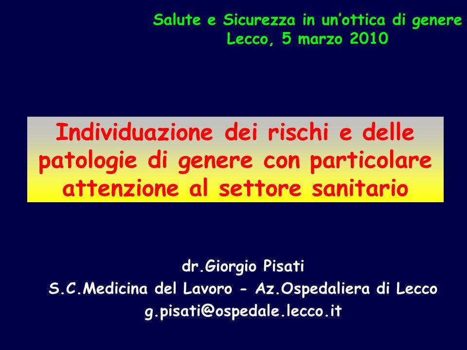 S.C.Medicina del Lavoro - Az.Ospedaliera di Lecco