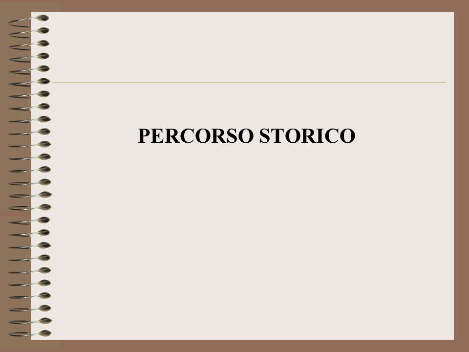 PERCORSO STORICO