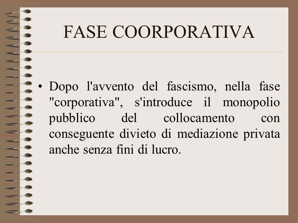 FASE COORPORATIVA