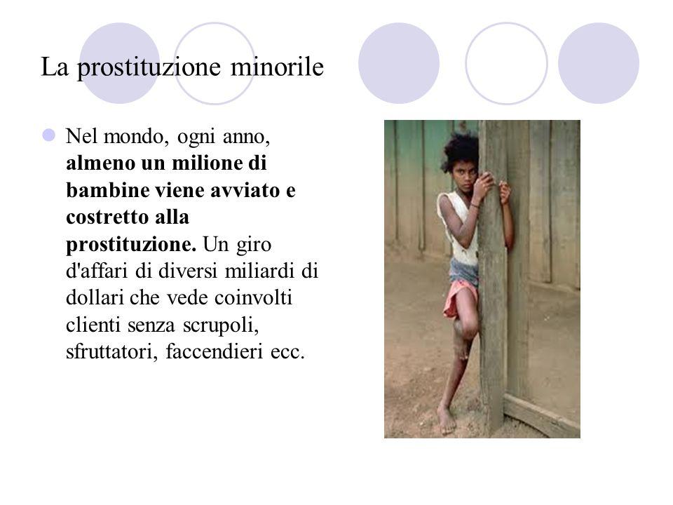 La prostituzione minorile