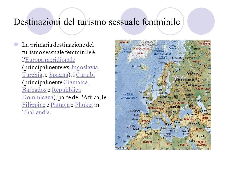 Destinazioni del turismo sessuale femminile