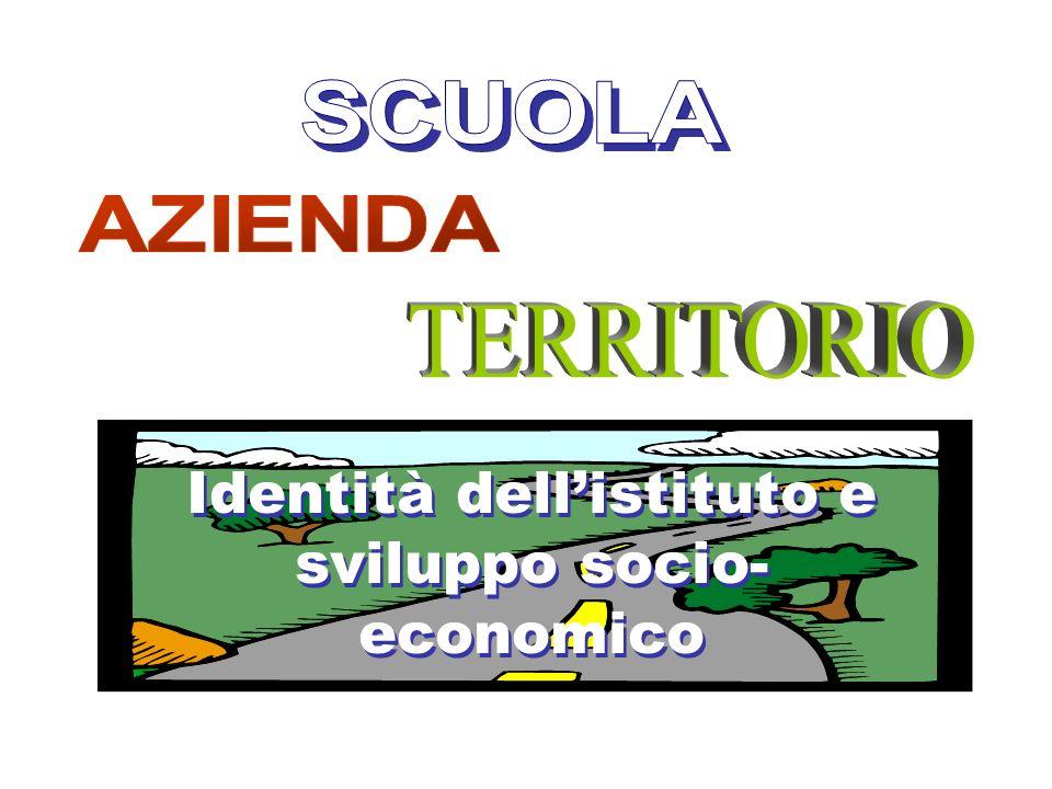Identità dell'istituto e sviluppo socio-economico